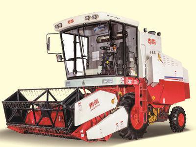 金亿4LZ-5收获机械高清图 - 外观
