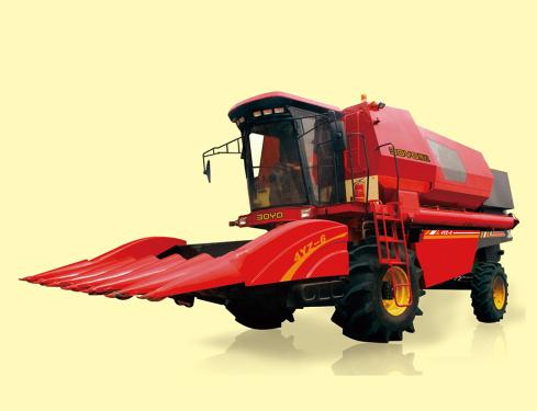 博远4YL-6玉米收获机