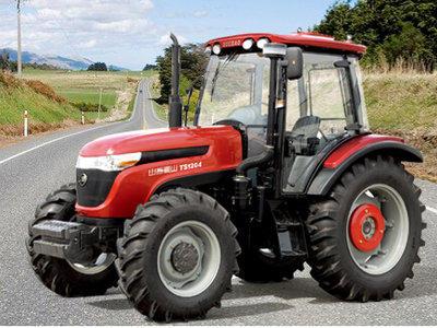 山拖TS1204轮式拖拉机高清图 - 外观