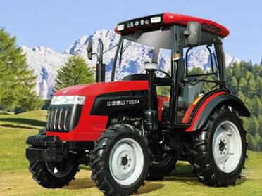山拖TS654轮式拖拉机