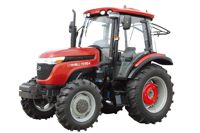 山拖TS950轮式拖拉机高清图 - 外观