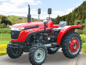 山拖TS354轮式拖拉机高清图 - 外观