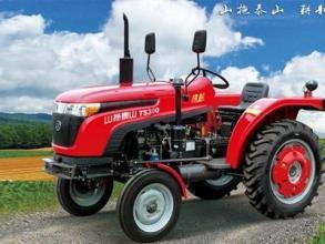 山拖TS254轮式拖拉机高清图 - 外观