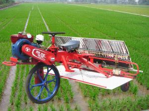 时风牌巧手系列乘坐式水稻插秧机水稻插秧机高清图 - 外观