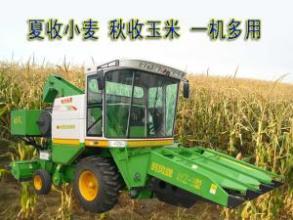时风型玉米联合收割机玉米收获机高清图 - 外观