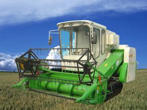 时风金鹰型履带式全喂入水稻联合收割机谷物收割机