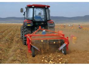 五征4UM-170马铃薯收获机高清图 - 外观