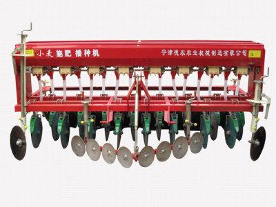 德农农机2B-16种植施肥机械高清图 - 外观