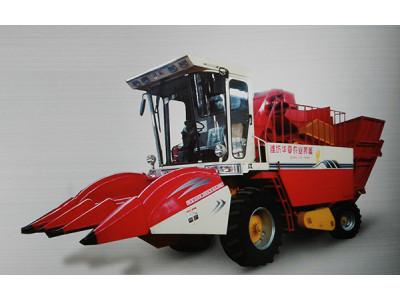 华夏拖拉机4YZ-3玉米收获机高清图 - 外观