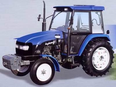 鲁中拖拉机800轮式拖拉机高清图 - 外观