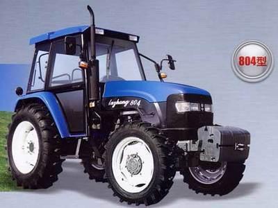 鲁中拖拉机804轮式拖拉机高清图 - 外观