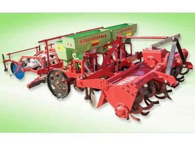 华联机械SGTN-4型种植施肥机械高清图 - 外观