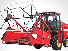 农哈哈4QZ-12收割机