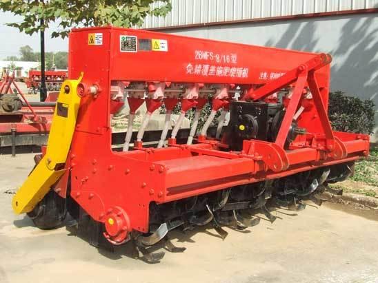华勤机械2BMFS-4/12种植施肥机械高清图 - 外观
