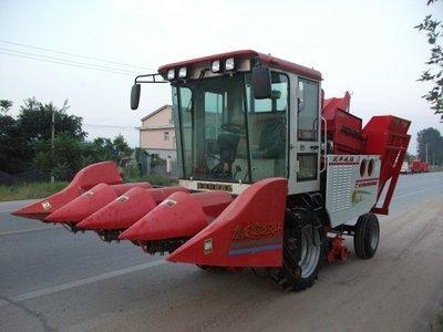 沃丰机械4YZB-4玉米收获机高清图 - 外观