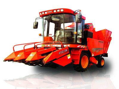 哈克农装4YZ-3B玉米收获机高清图 - 外观