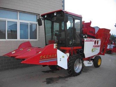 沃丰机械4YZB-3玉米收获机高清图 - 外观