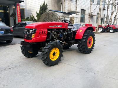 昊田农业454拖拉机高清图 - 外观