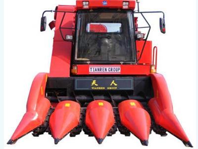 天人农机4YZ-4(TR9988)玉米收获机高清图 - 外观