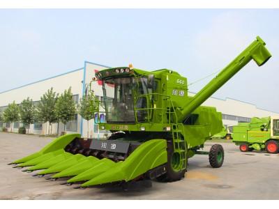 润源4YZ-6(G60)玉米收获机高清图 - 外观