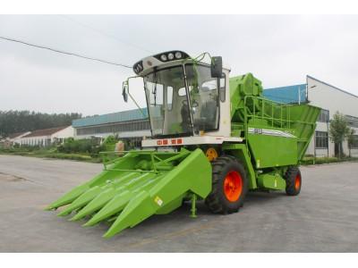 润源4YZ-4B玉米收获机高清图 - 外观
