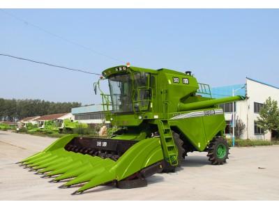 润源4YZ-8(D80)玉米收获机高清图 - 外观
