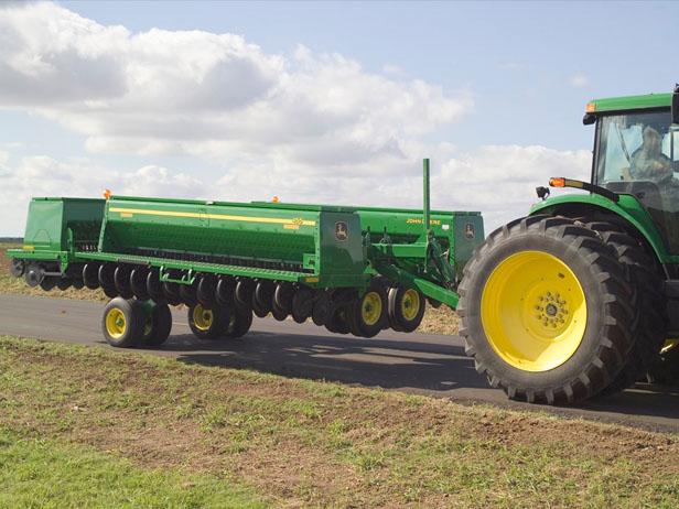 约翰迪尔农机455种植施肥机械高清图 - 外观