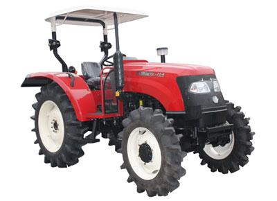 沃得农机奥龙60-75系列轮式拖拉机高清图 - 外观
