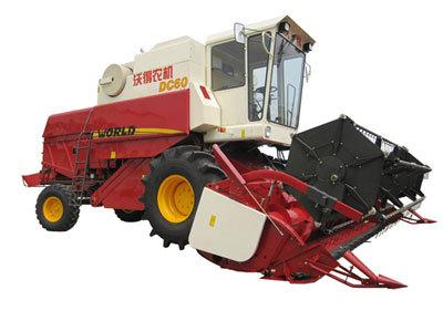 沃得农机DC60谷物收割机