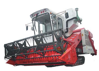 沃得农机巨龙谷物收割机高清图 - 外观