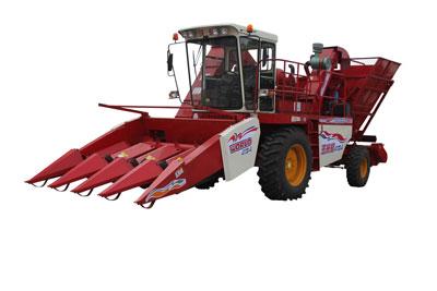 沃得农机4YZ-4玉米收获机高清图 - 外观