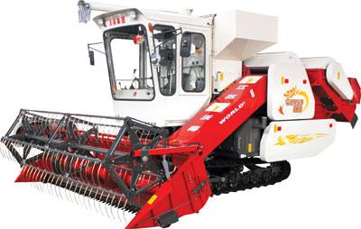 沃得农机巨龙新型谷物收割机高清图 - 外观