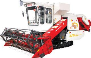 沃得农机巨龙新型谷物收割机