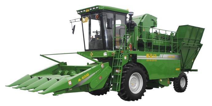 九方泰禾迪马4288Y玉米收获机高清图 - 外观