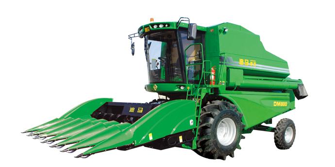 九方泰禾迪马DM800玉米收获机高清图 - 外观
