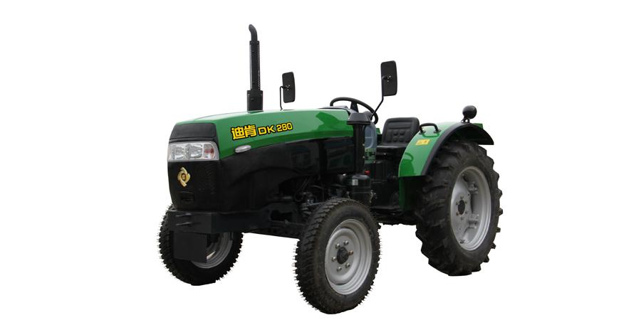 九方泰禾DK280轮式拖拉机高清图 - 外观