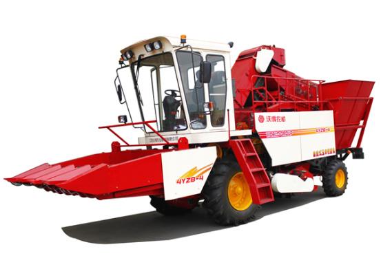 沃得农机4YZB-4玉米收获机