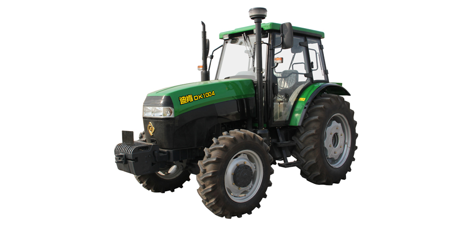 九方泰禾DK1004轮式拖拉机高清图 - 外观