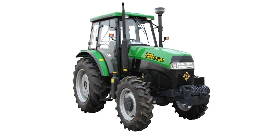 九方泰禾DK854轮式拖拉机高清图 - 外观