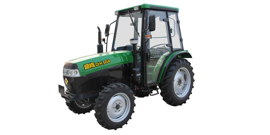 九方泰禾DK554轮式拖拉机高清图 - 外观
