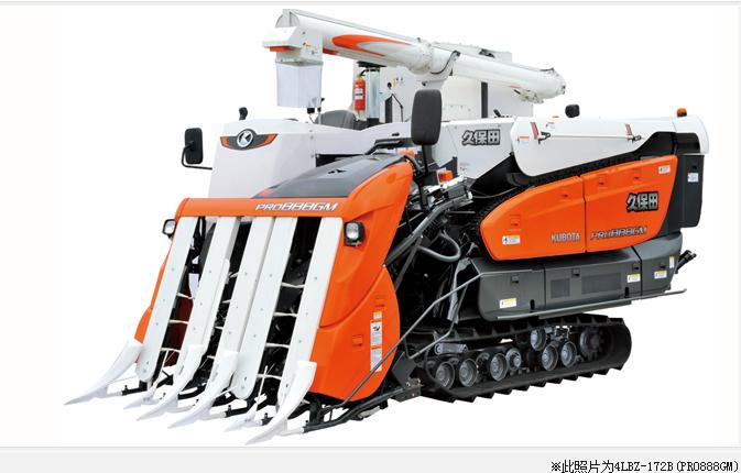 久保田农机4LBZ-172B玉米收获机高清图 - 外观