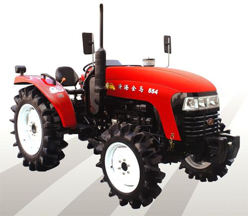 马恒达400-604A轮式拖拉机高清图 - 外观