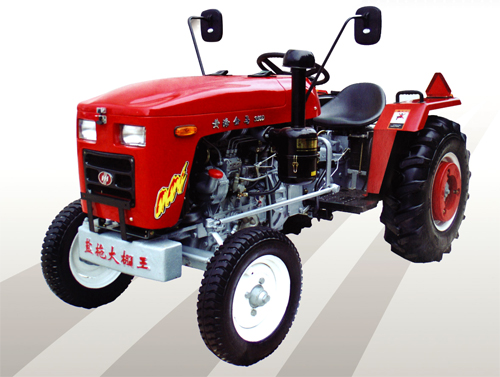马恒达250B-504D轮式拖拉机高清图 - 外观