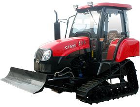 东方红(一拖)C602S/C702S履带式拖拉机高清图 - 外观
