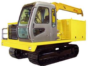 东方红(一拖)YZDZ80/80C/100/100C履带式拖拉机高清图 - 外观