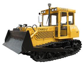 东方红(一拖)CA902-2履带式拖拉机高清图 - 外观