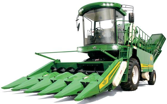五征4YZP-5玉米收获机高清图 - 外观