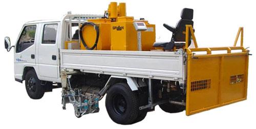 山推格林MQ16型车载冷�锱绺哐刮奁�划线机