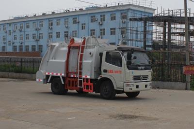 程力东风多利卡CLW5081TCA4(国四)餐厨垃圾车