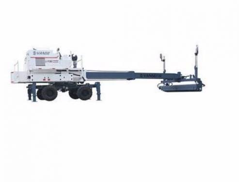 万世360度大型伸缩臂混凝土激光整平机